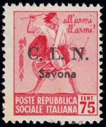 3512060: Italien Lokalausgaben C.L.N. Savona