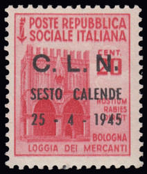3512065: Italien Lokalausgaben C.L.N. Sesto Calende
