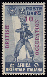3576: Italienisch Ostafrika Britische Besetzung