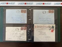 7999: Italien Reich Stempelmarken postalisch verwendet - Sammlungen