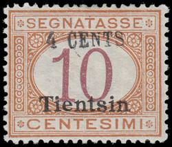 3525020: Italienische Post in China Tientsin