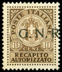 3435: Italia Recaptio Autorizzato - Fiscal stamps