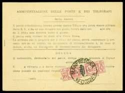 3415010: Italia Luogotenenza - Parcel stamps