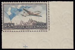 5590: San Marino - Airmail stamps