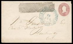 6605215: USA Wells Fargo - Postal stationery