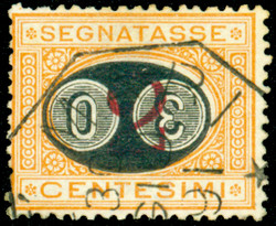 3415200: Italian Republic - Postage due stamps