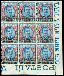 3535: Italienische Post in der Levante