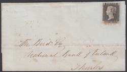 2865100: Great Britain 1840 1d black