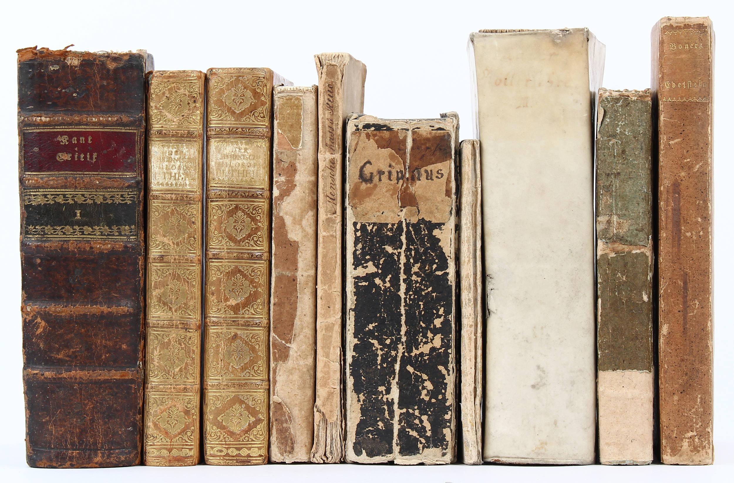 Konvolut Literatur. 10 Bde.
