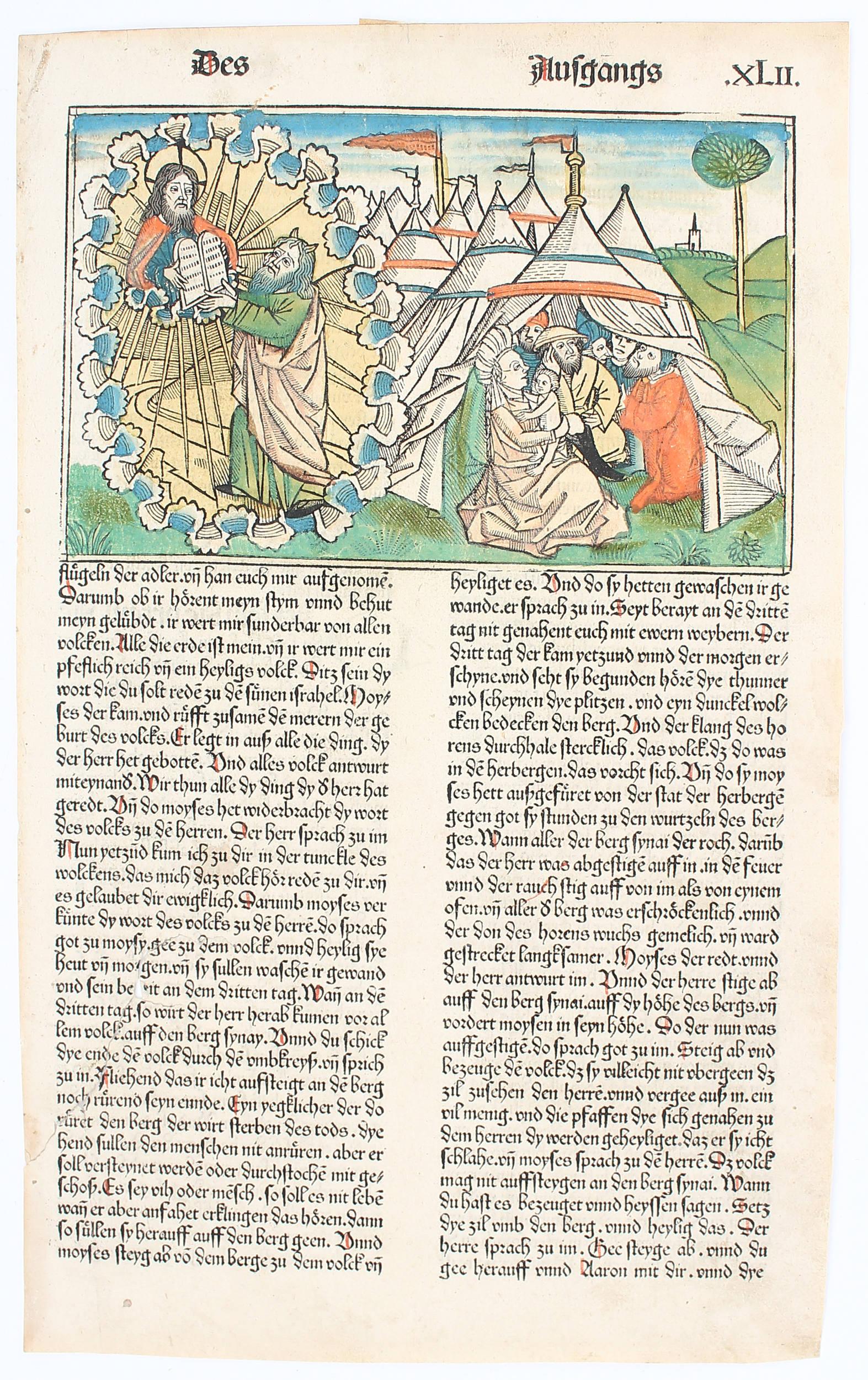 9. deutsche Bibel. 6 Bll.