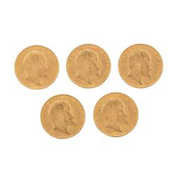 100.80.10: Lots - Münzen - Goldmünzen aus aller Welt
