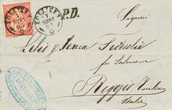 5655010: Switzerland pre philately