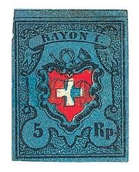 5655095: Rayon I dark blue with Kreuzeinfassung