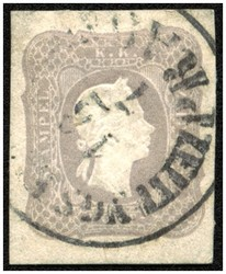 4745062: Austria Newspaper Stamp 1861