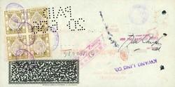 2980: Hongkong - Verrechnungsmarken