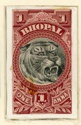 3080: Indien Staaten Bhopal - Sammlungen