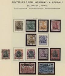 7013: Sammlungen und Posten Deutsche Abstimmungsgebiete - Sammlungen