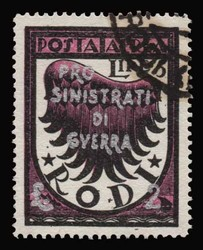 1545100: Aegean Islands Italian Occupation 1923