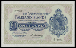110.560.110: Billets - Amérique - Falkland Islands