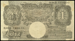 110.150.40: Banknotes - Great Britain - BM and POW