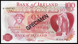 110.150.60: Banknotes - Great Britain - Northern Ireland