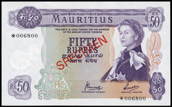 110.550.266: Banknotes – Africa - Isles of France and of Bourbon