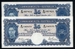110.580.10: Banknotes – Oceania - Australien