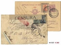 7172: Sammlungen und Posten Italien Besetzte italienische Gebiete - Briefe Posten