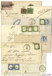 7160: Collections and Lots Italian States - Covers bulk lot