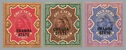 3105: Indien Staaten Chamba