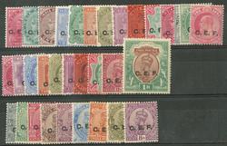 2070115: China Britische Post