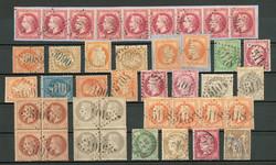 7125: Sammlungen und Posten Französische Post im Ausland - Sammlungen