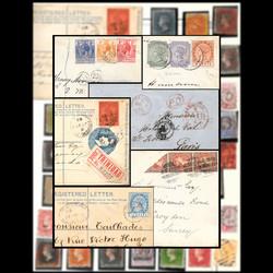 7145: Sammlungen und Posten Britisch Commonwealth Amerika - Sammlungen