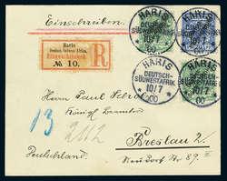 185: Deutsche Kolonien Südwestafrika - Stempel
