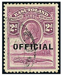 1800: Basutoland - Dienstmarken