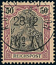 151: Deutsche Auslandspost China, Petschili Ausgaben
