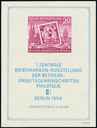 213020: Postal History, Stamp Exhibitions, Germany from 1945