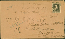 2705: Französisch Indochina Allgemeine Ausgaben