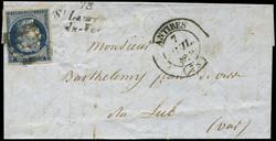 140020: Frankreich, Departement Aisne (2) - Stempel