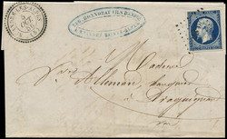 140060: France, Departement Alpes-Maritimes (6) - Cancellations and seals