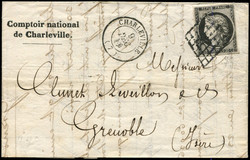 140080: France, Departement Ardennes (8) - Cancellations and seals