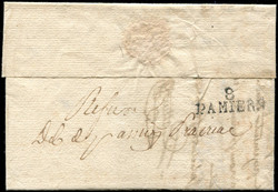 140090: France, Departement Ariège (9) - Cancellations and seals