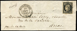 140100: France, Departement Aube (10) - Cancellations and seals