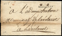 140090: Frankreich, Departement Ariège (9) - Stempel