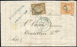 140010: Frankreich, Departement Ain (1) - Stempel