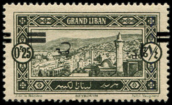 4160100: Lebanon Grand Liban under the French Mandate