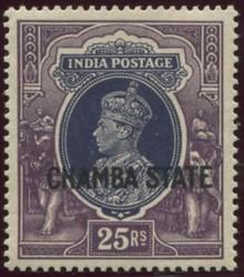 3105: États de l'Inde de Chamba