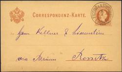 4745380: Österreich Abstempelungen Mähren - Ganzsachen