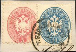 4745070: Österreich Ausgabe 1863/64