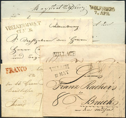 4745020: Documents et vieilles lettres d'Autriche - Covers bulk lot